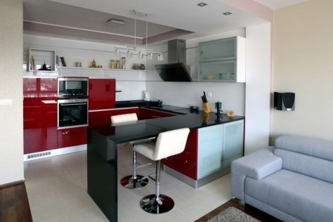 Desain Kitchen Set Mini Bar Samarinda 012