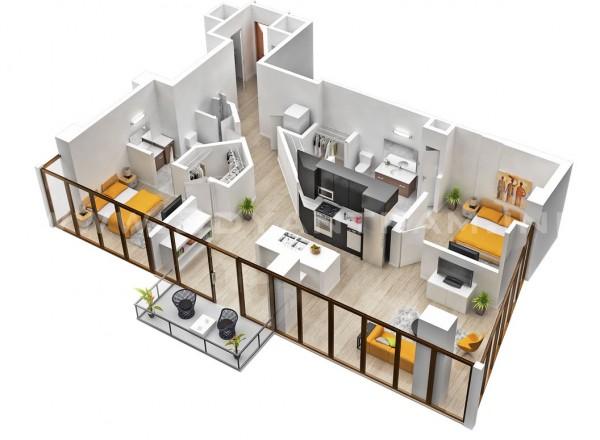 desain rumah minimalis tipe 36 45 001