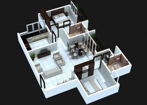 desain rumah minimalis tipe 36 45 002