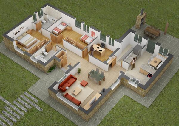 desain rumah minimalis tipe 36 45