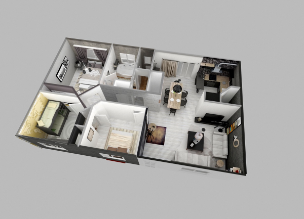 kumpulan desain rumah minimalis 001