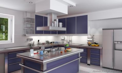 kitchen-cabinets-modern-two-tone-253-s37972651x2-blue-stainless-steel-island