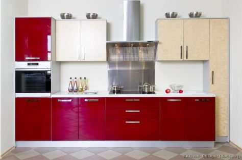 kitchen-cabinets-modern-two-tone-263-s28373542x2-red-white-cream-stainless-steel-small