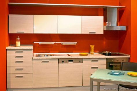 kitchen-cabinets-modern-whitewash-wood-006-s17776726-red-orange-walls