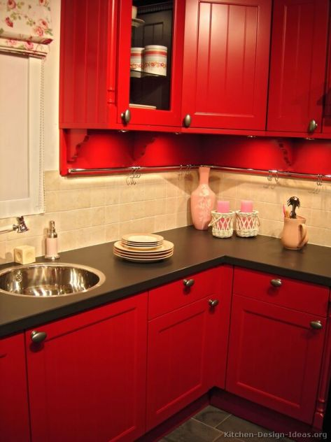 kitchen-cabinets-traditional-red-001-s2076707-tile-backsplash-black-countertop