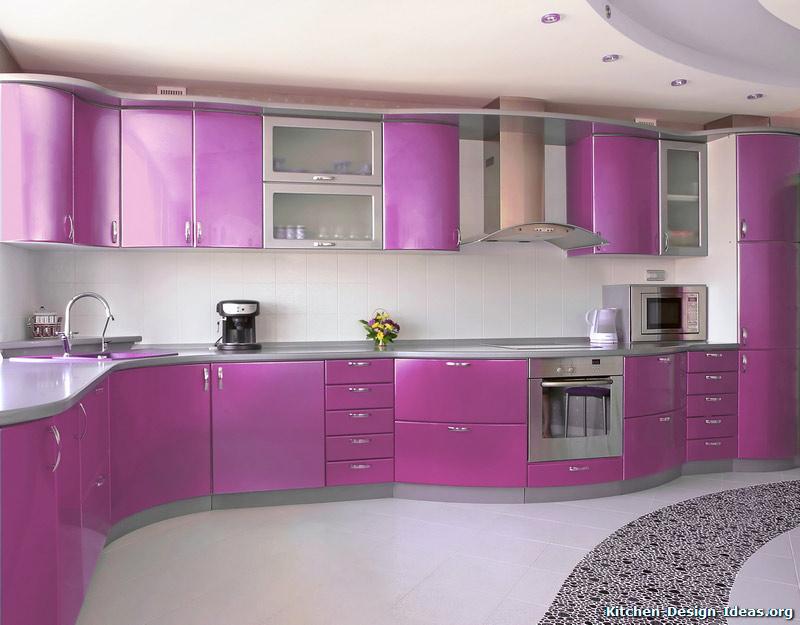 25 Full Colour Kitchen Sets Design Ideas