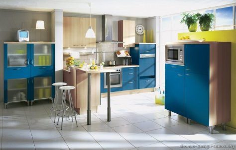 Samarinda Kitchen Sets Biru Blue 004