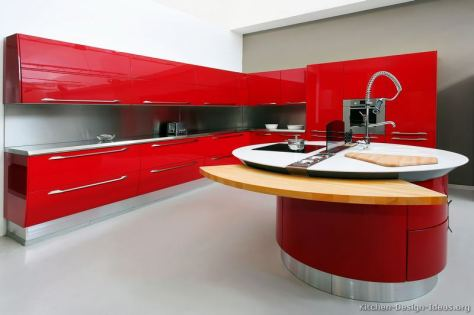 Samarinda Kitchen Sets Hijau Merah Red 005