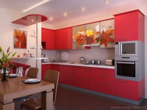 Samarinda Kitchen Sets Hijau Merah Red 006