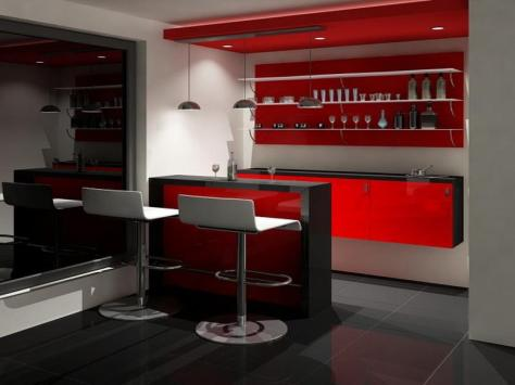 Desain Kitchen Set Mini Bar Samarinda 004